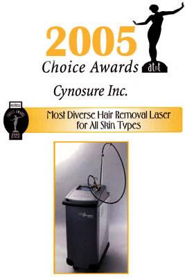 2005 Choice Awards Cynosure Apogee Elite