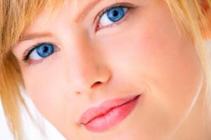 Woman's electrolysis hair removal